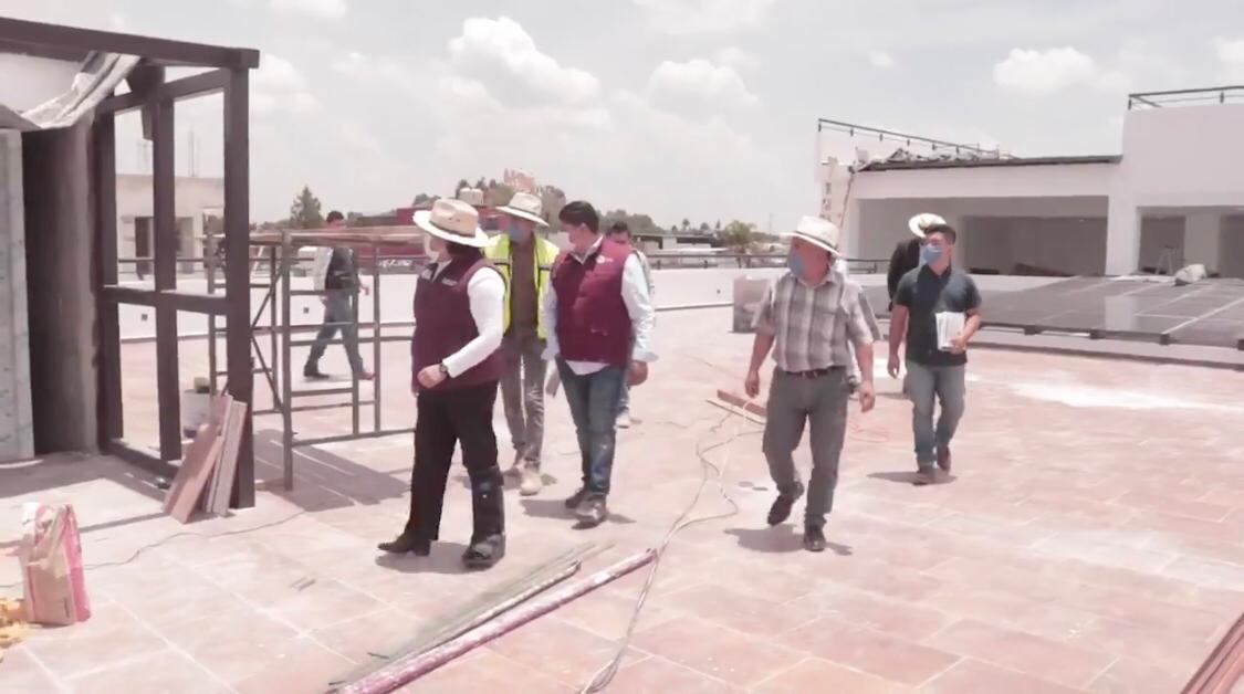 Obra del CABS lleva 96% de avance: Pérez Popoca