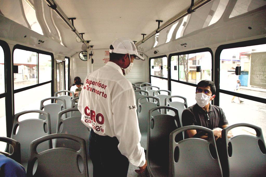 Sancionan a 17 rutas por viajar con sobrecupo en la pandemia