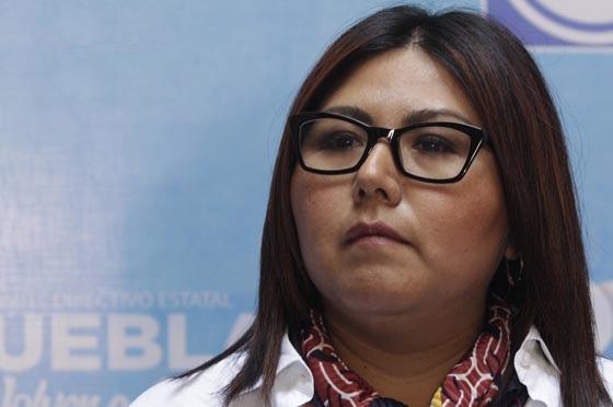 Panistas acusan a Genoveva Huerta de imponer candidaturas