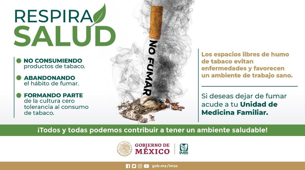 En México, el consumo del tabaco inicia entre los 10 y 12 años