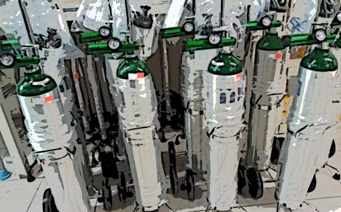 Rechaza Salud desbasto de tanques de oxígeno para pacientes Covid en Puebla