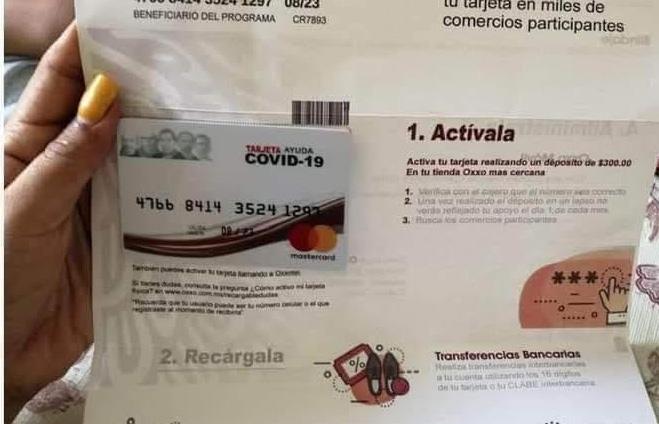 Alertan a abuelitos de Atlixco por tarjetas falsas con apoyos covid