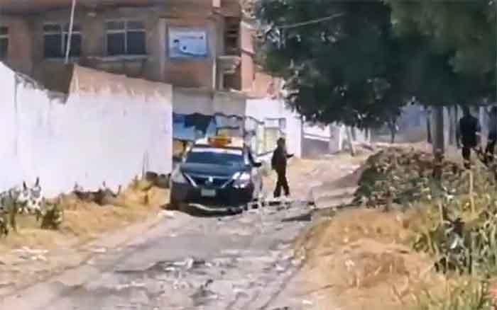 Matan a taxista en asalto en la colonia Guadalupe Xonacatepec, en Puebla