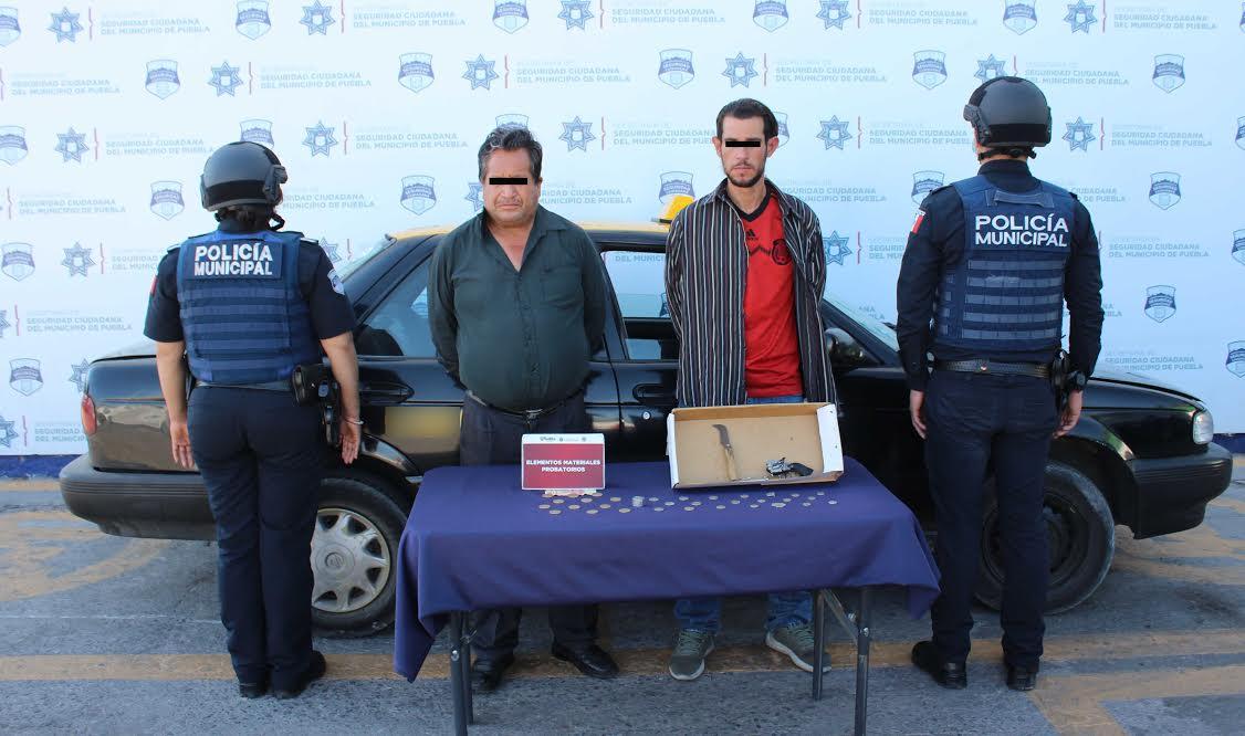 Con ayuda de taxista asaltó una papelería en San Manuel