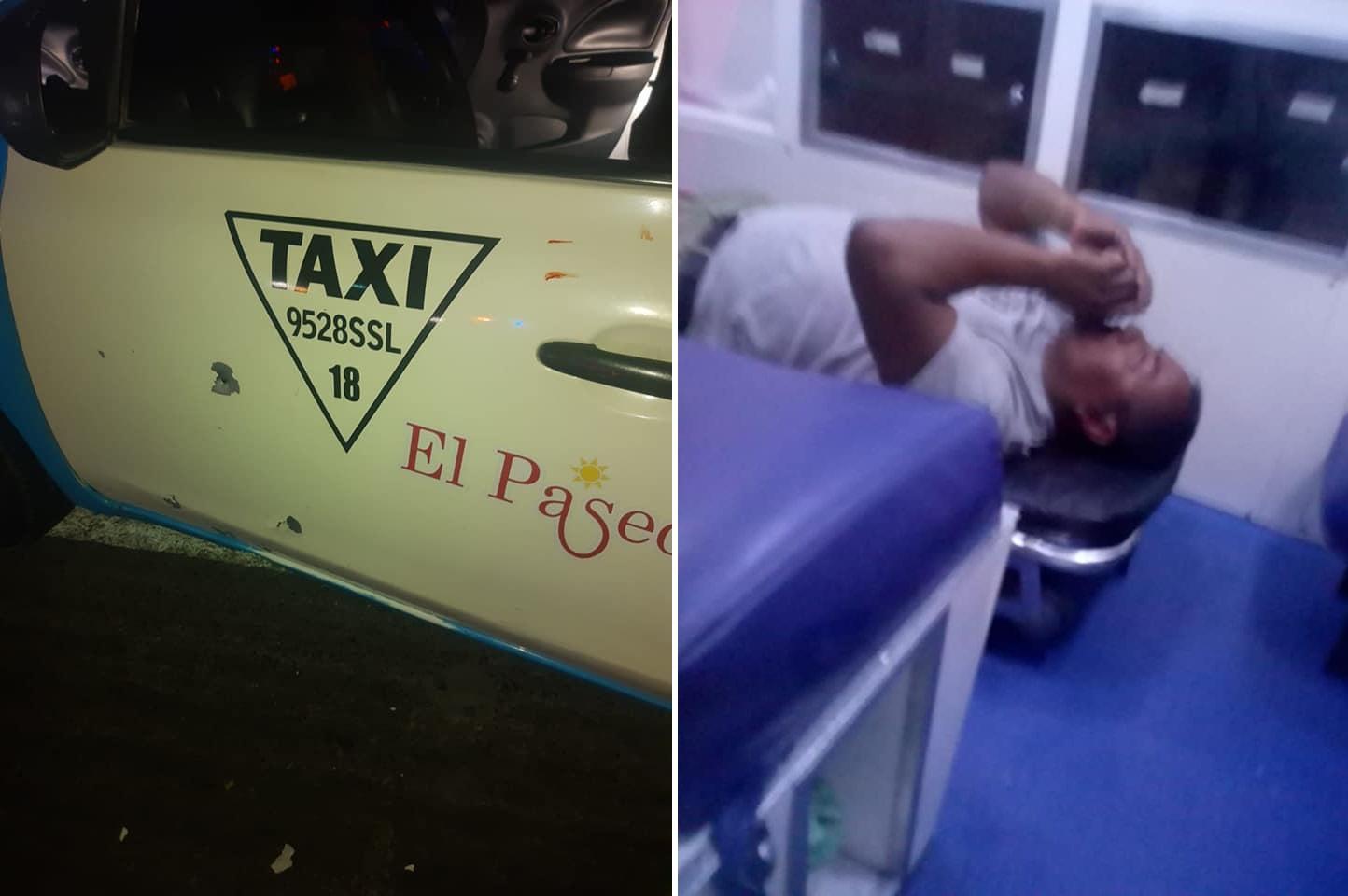 Policías confunden a taxista con delincuente y le disparan en Chapulco