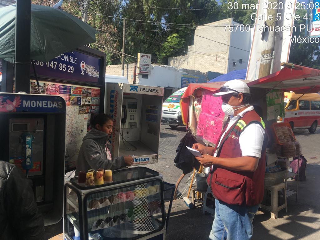Baja la asistencia de comerciantes en plazas y mercados de Tehuacán