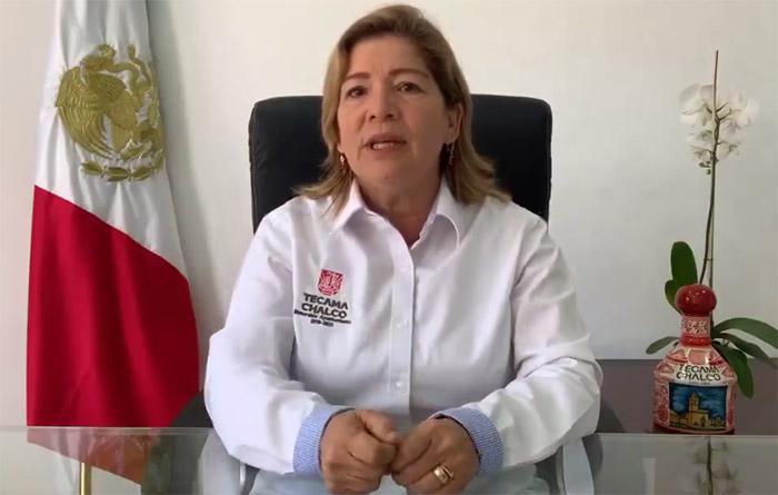 Responde alcaldesa de Tecamachalco a edil de Xochitlán por tema de seguridad