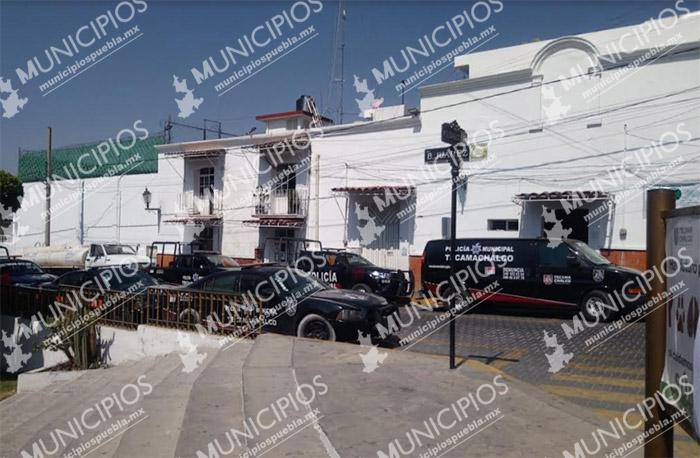 Niegan paro de policías municipales en Tecamachalco
