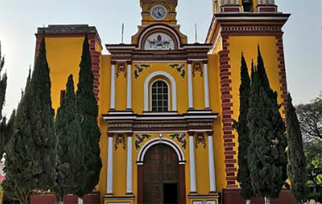 Cierran iglesia de Chapulco tras daños por el sismo