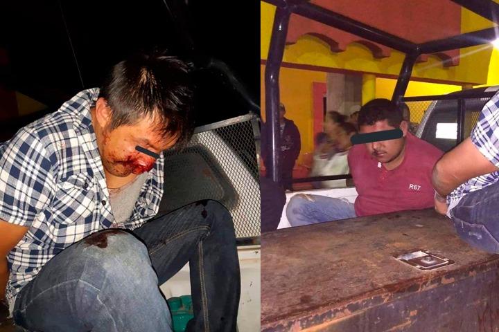 Casi linchan a dos masculinos en Tepeyahualco