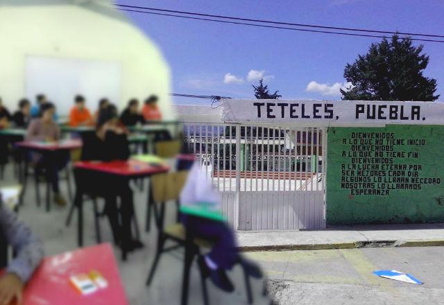 Normal de Teteles obliga a alumnas a acudir a las protestas: familias