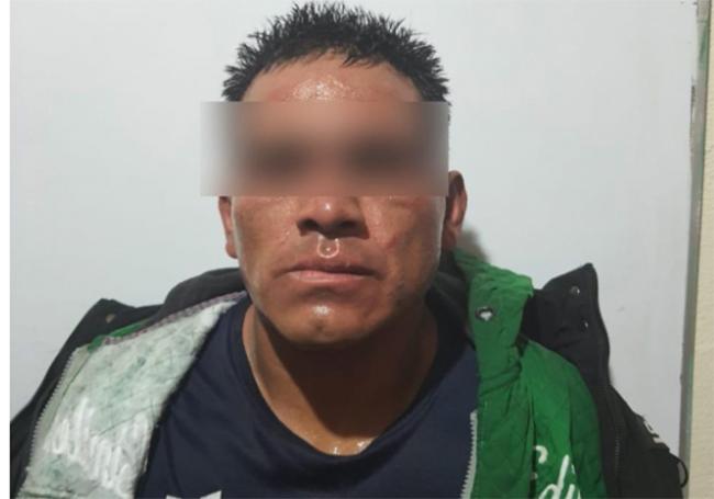 Lo detienen por disparar al aire y lesionar a una persona en el centro de Texmelucan