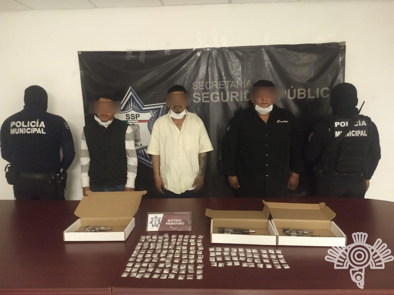 Detienen a presuntos homicidas en Texmelucan
