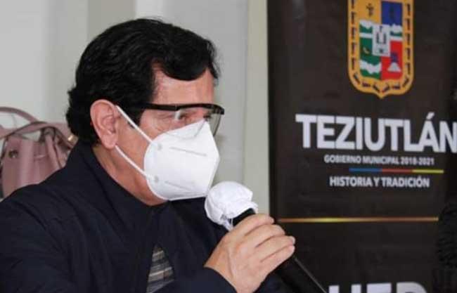 Internan por neumonía al secretario general del Ayuntamiento de Teziutlán