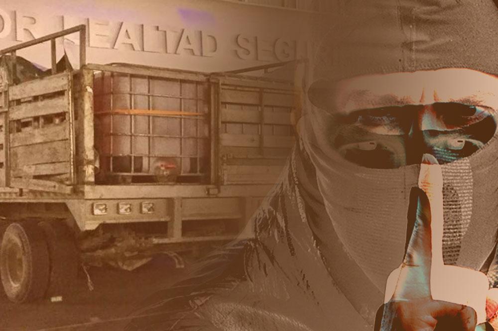 Asesinan a 8 huachicoleros en Tlacotepec; hay hermetismo