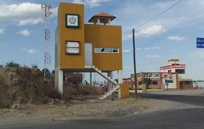 Vandalizan módulos de vigilancia en Tlahuapan
