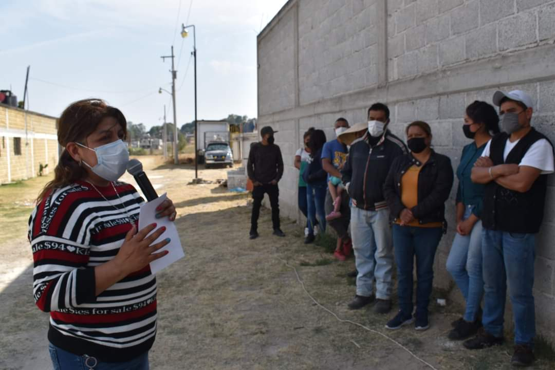 Tras vencer al Covid en dos ocasiones, retoma actividades la alcaldesa de Tlalancaleca