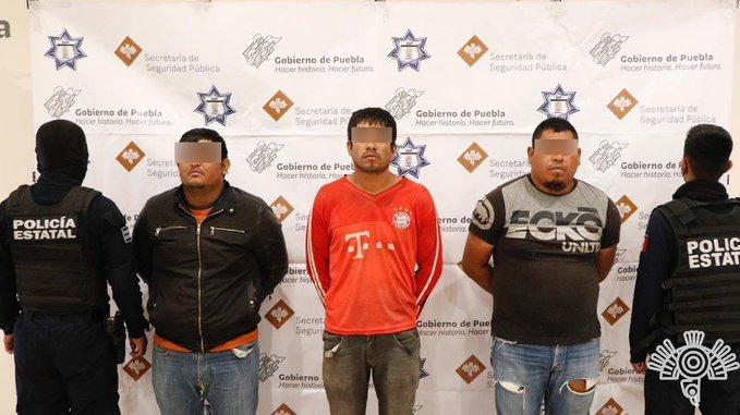 Detienen a tres huachicoleros y narcomenudistas en Tlapanalá