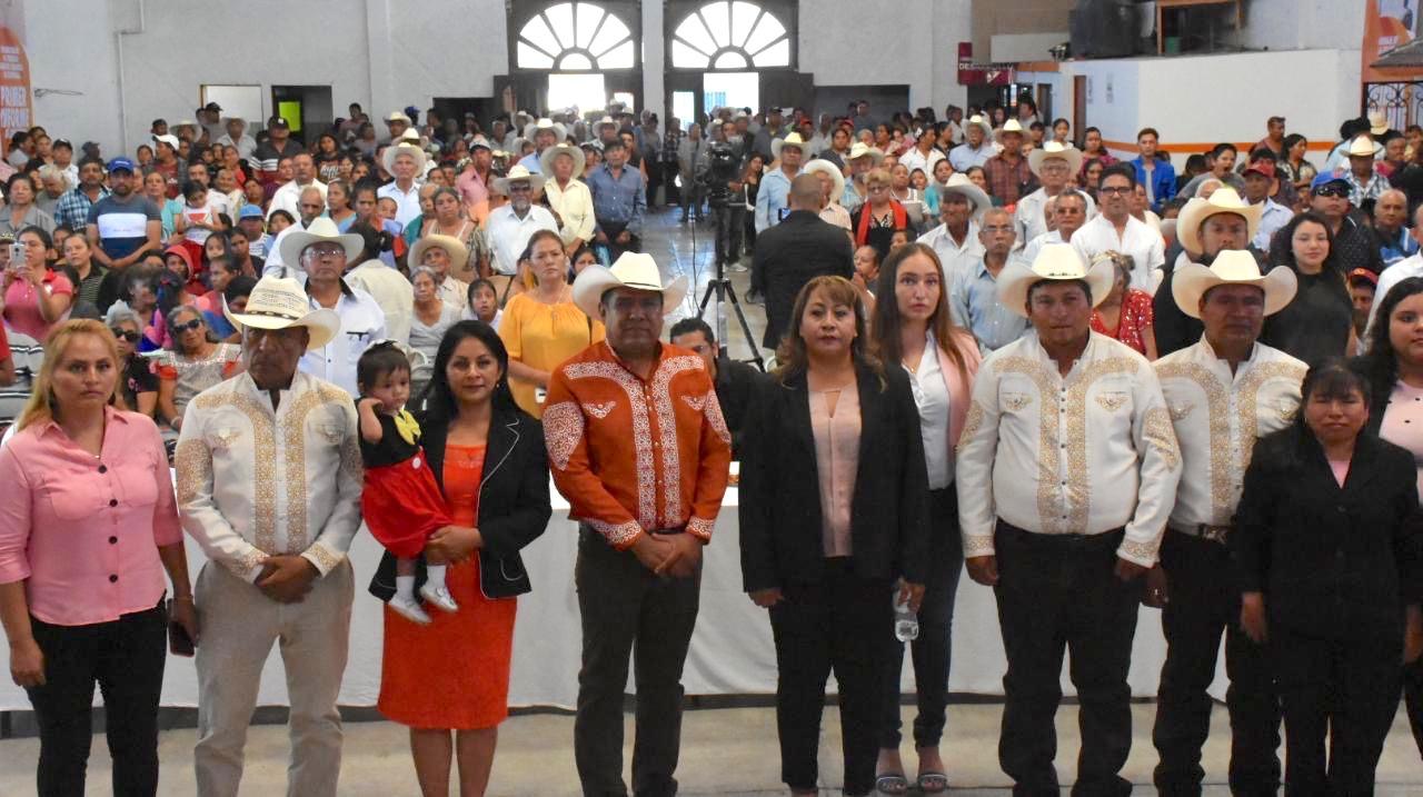 Rinde edil de Tlapanalá primer informe de gobierno