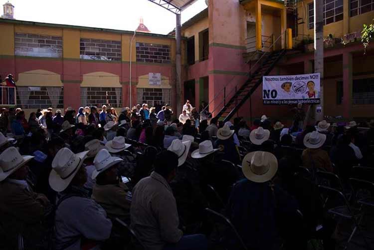 Se suma Tlatlauquitepec a la lucha contra la minería en Puebla
