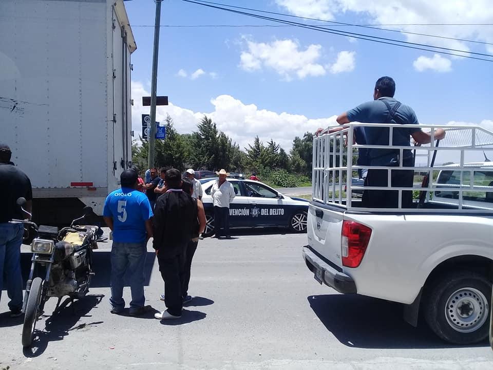Hasta camionetas de zapatos se roban en Tepeyahualco