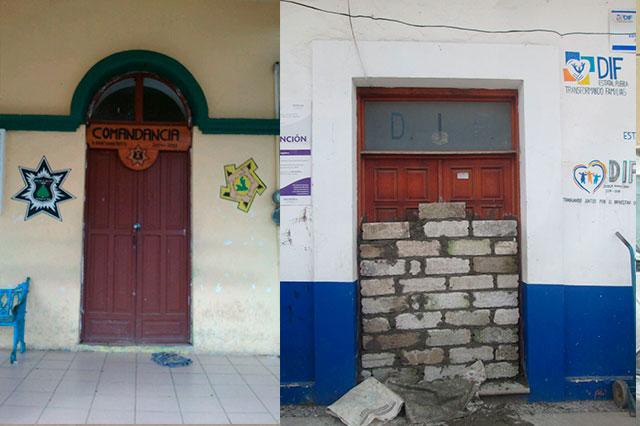 Sellan oficina del edil de Tepango y le exigen su renuncia