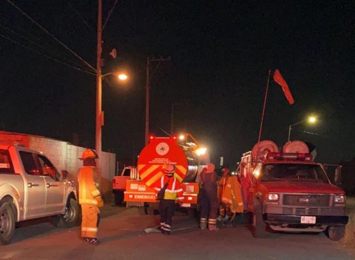 Controlan fuga en toma clandestina en Puebla capital