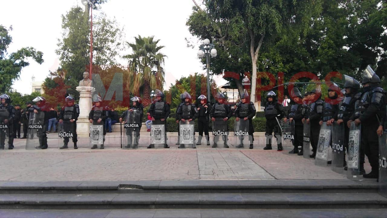 VIDEO Estado toma control de la seguridad en Tehuacán
