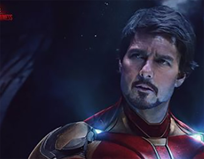 Así lucirá Tom Cruise como Iron Man
