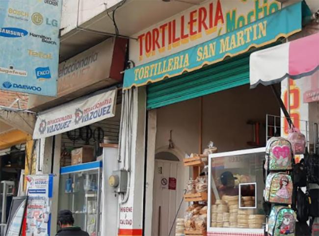Por contingencia, tortillerías de Texmelucan reducen ventas 50%