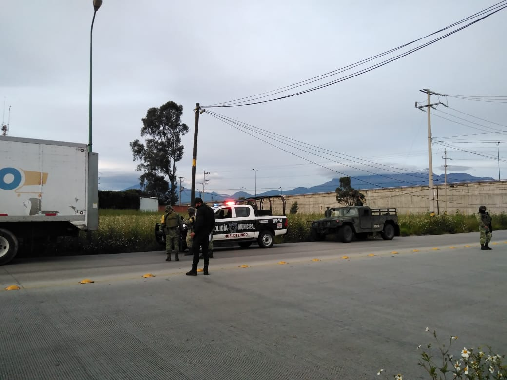 En Huejotzingo recuperan tráiler robado en Texmelucan