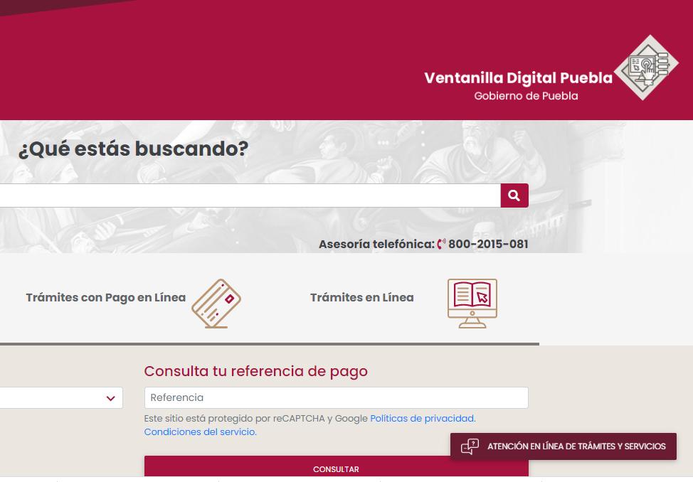 Mantiene gobierno de Puebla trámites fiscales y vehiculares
