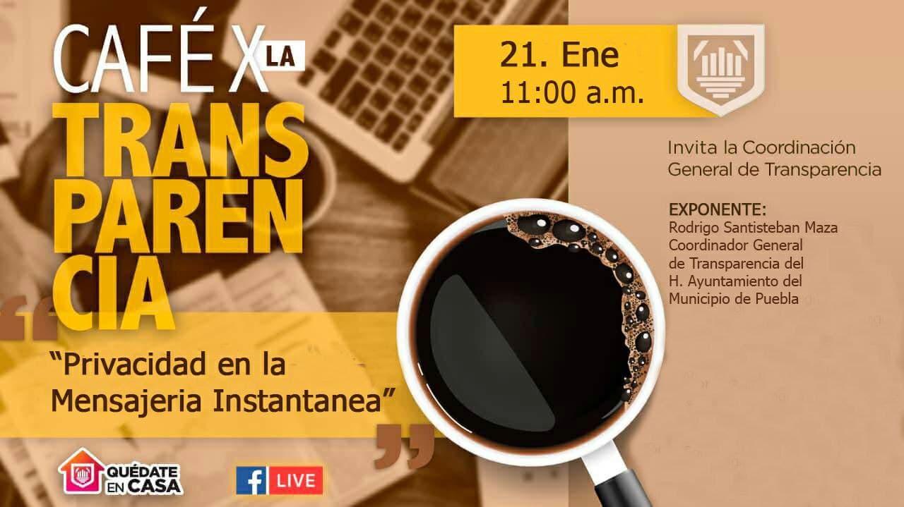 Ayuntamiento de Puebla impulsa protección de datos personales en redes sociales