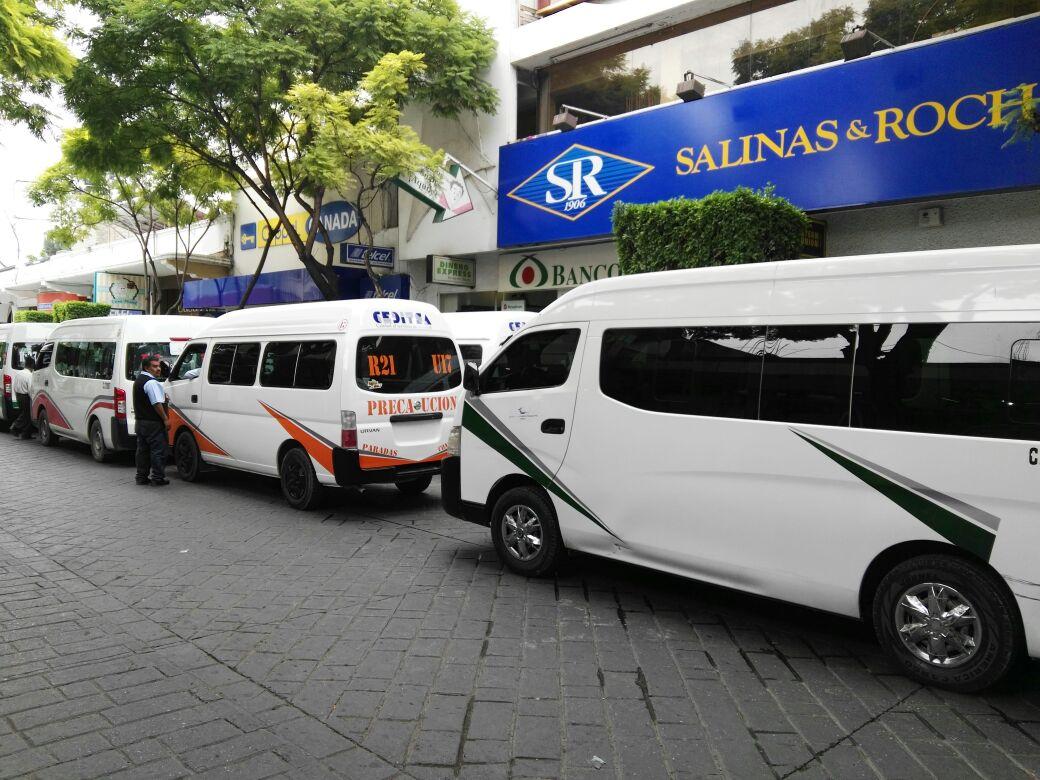 Solicitan transportistas de Tehuacán alza en el costo del pasaje