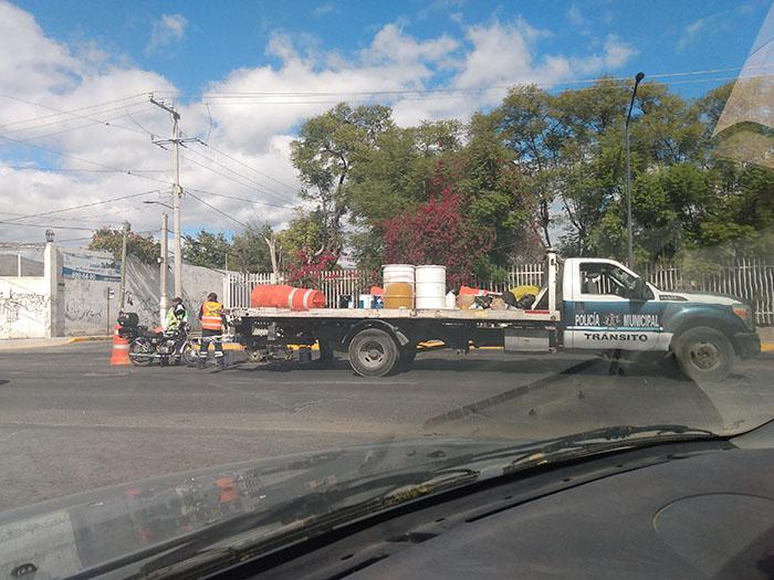 Bajan 95% los accidentes viales en Tehuacán por el confinamiento