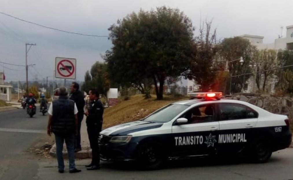 Temen brote de Covid-19 en Tránsito y Policía de Texmelucan
