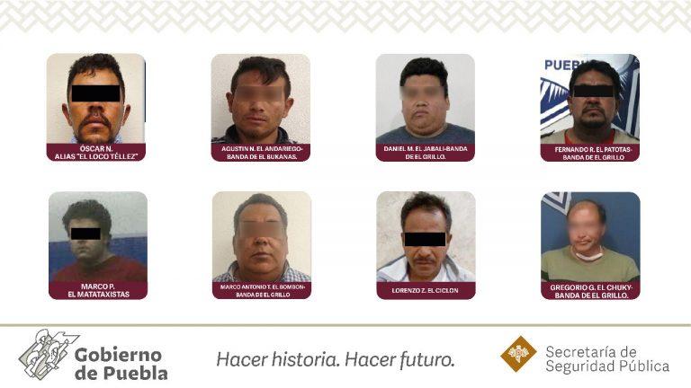Puebla trasladó a El Loco Téllez y El Jabalí a penales federales