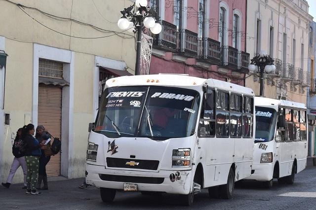 Solo 40% de unidades de transporte público están conectadas al C5: SMT