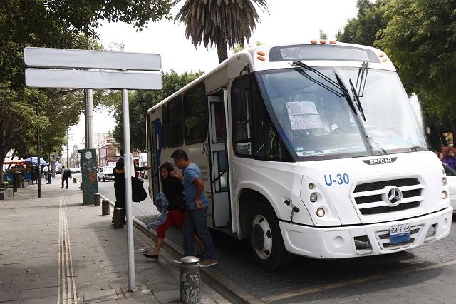 Alza a tarifa del transporte oscilará entre 8 y 9 pesos: SMT