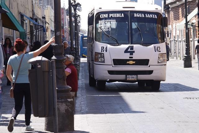 Transportistas ya preparan amparos contra descuento a estudiantes