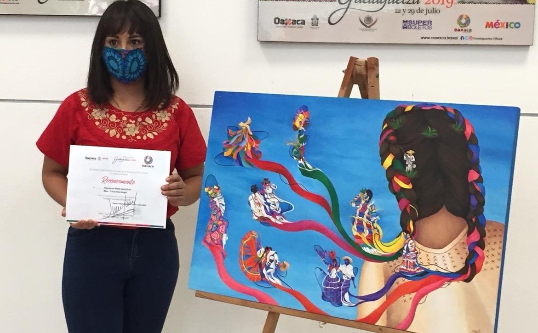 Estudiante de la BUAP gana concurso de la imagen de la Guelaguetza 2020