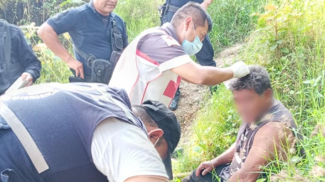 Turista se cae del mirador Cruz Celestial en Xicotepec