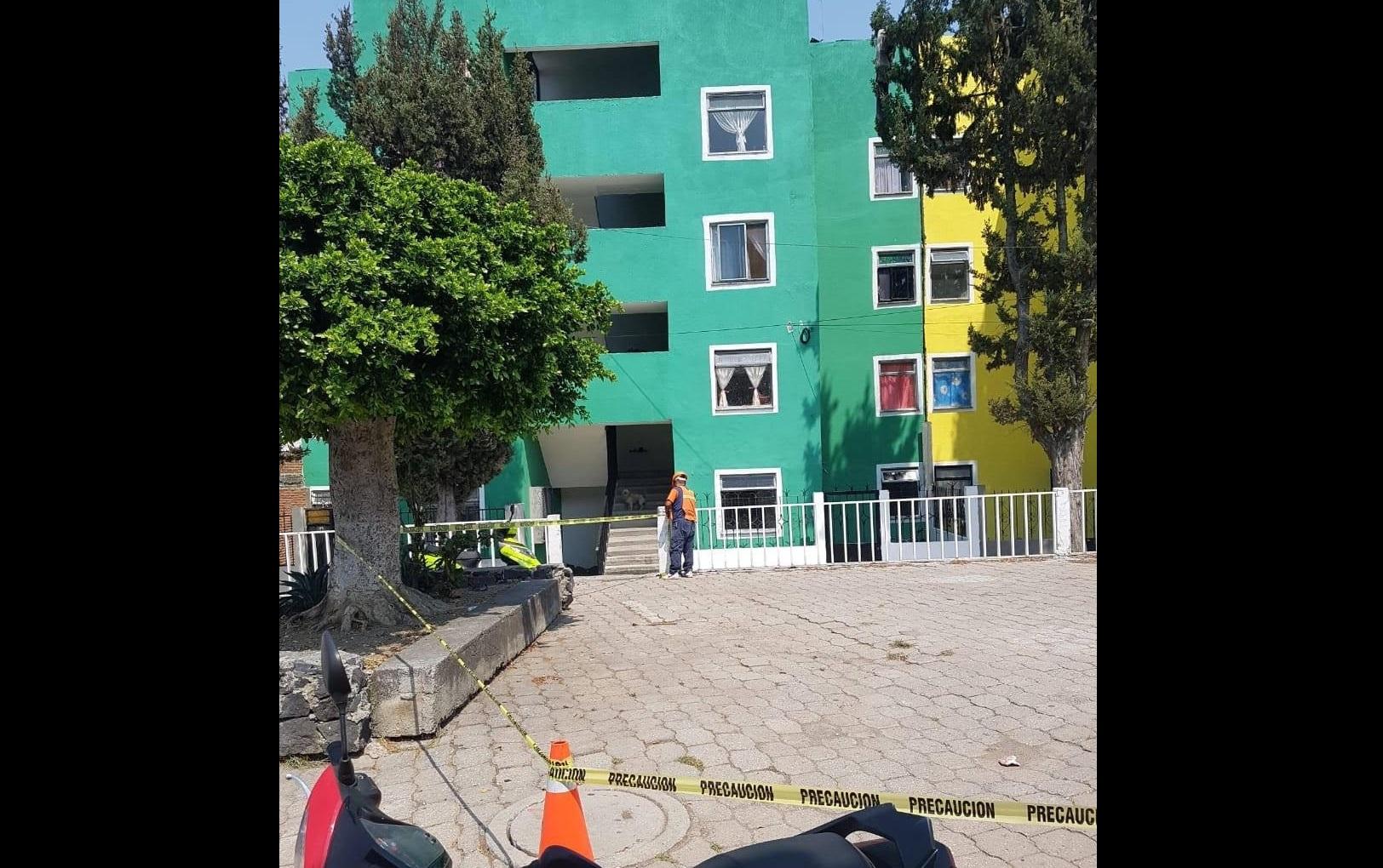 Sujeto lanza a su perra desde el tercer piso en Infonavit de Atlixco