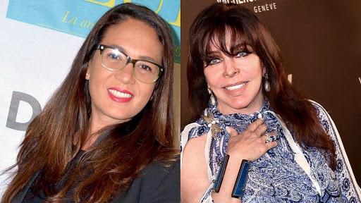 Filtran fotografía de Verónica Castro y Yolanda Andrade en Paris