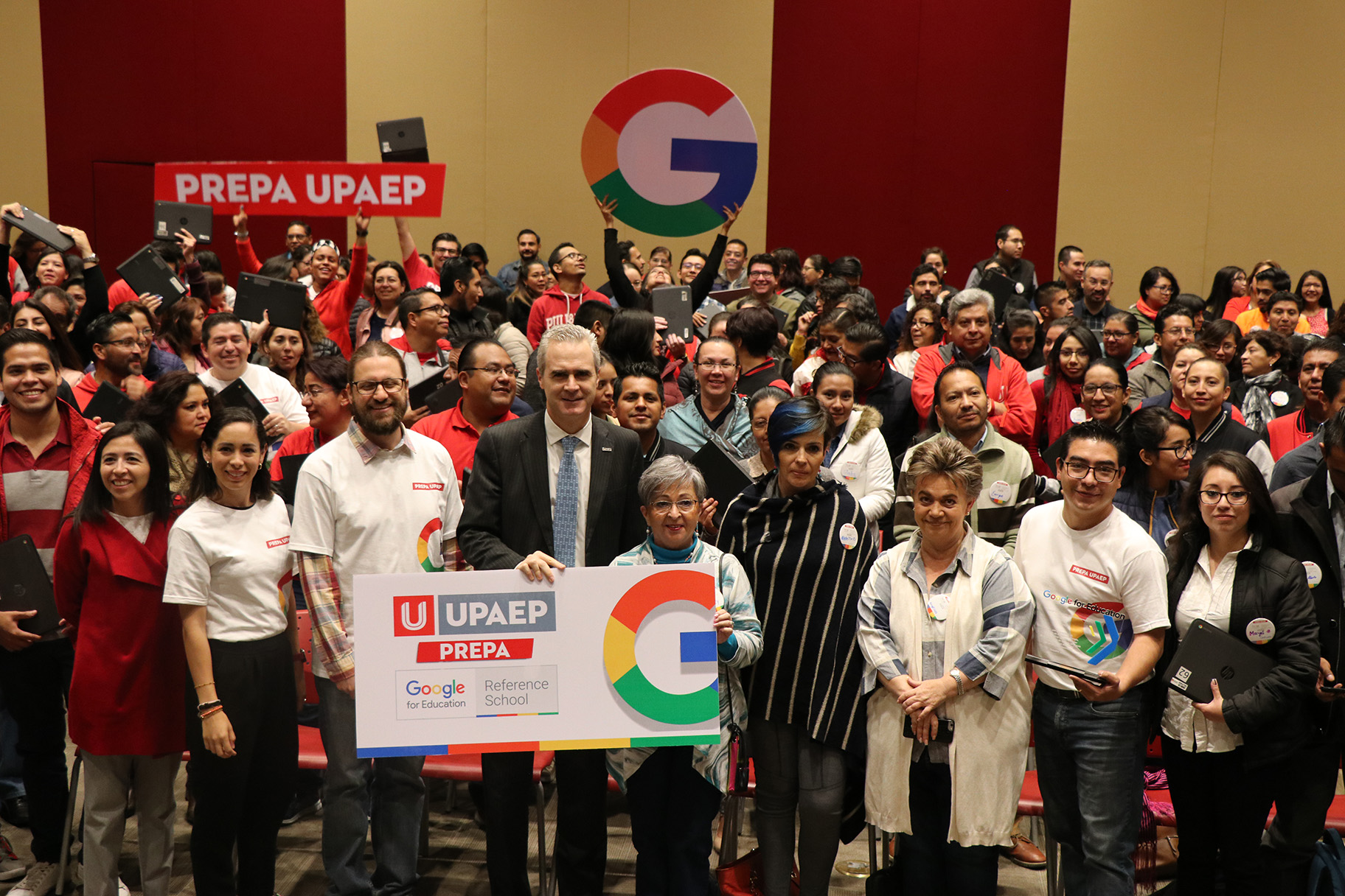 Prepas UPAEP recibe certificación Google Reference School
