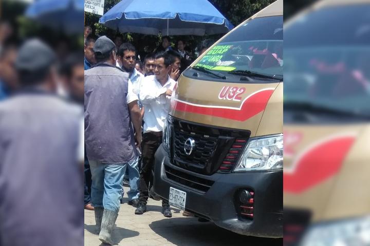 Huye conductor luego de atropellar a hombre de 77 años en Huauchinango