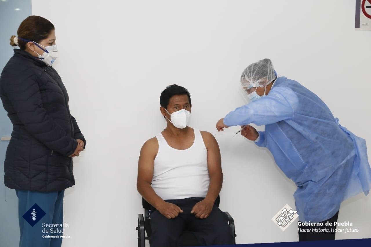 Arranca en febrero segunda etapa de vacunación anti Covid en Puebla