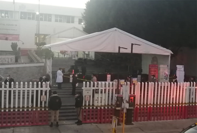 Comienza vacunación de Covid en el ISSSTE en Puebla capital