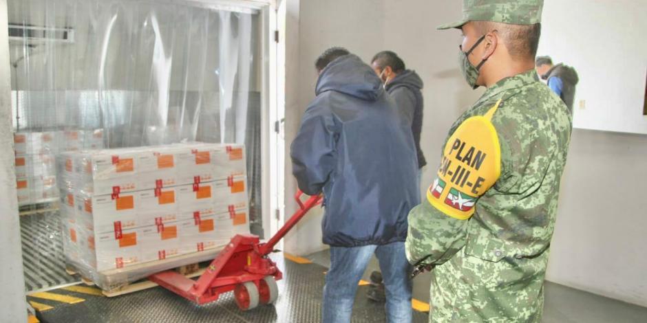Comienza distribución de 800 mil vacunas de Sinovac a nivel nacional