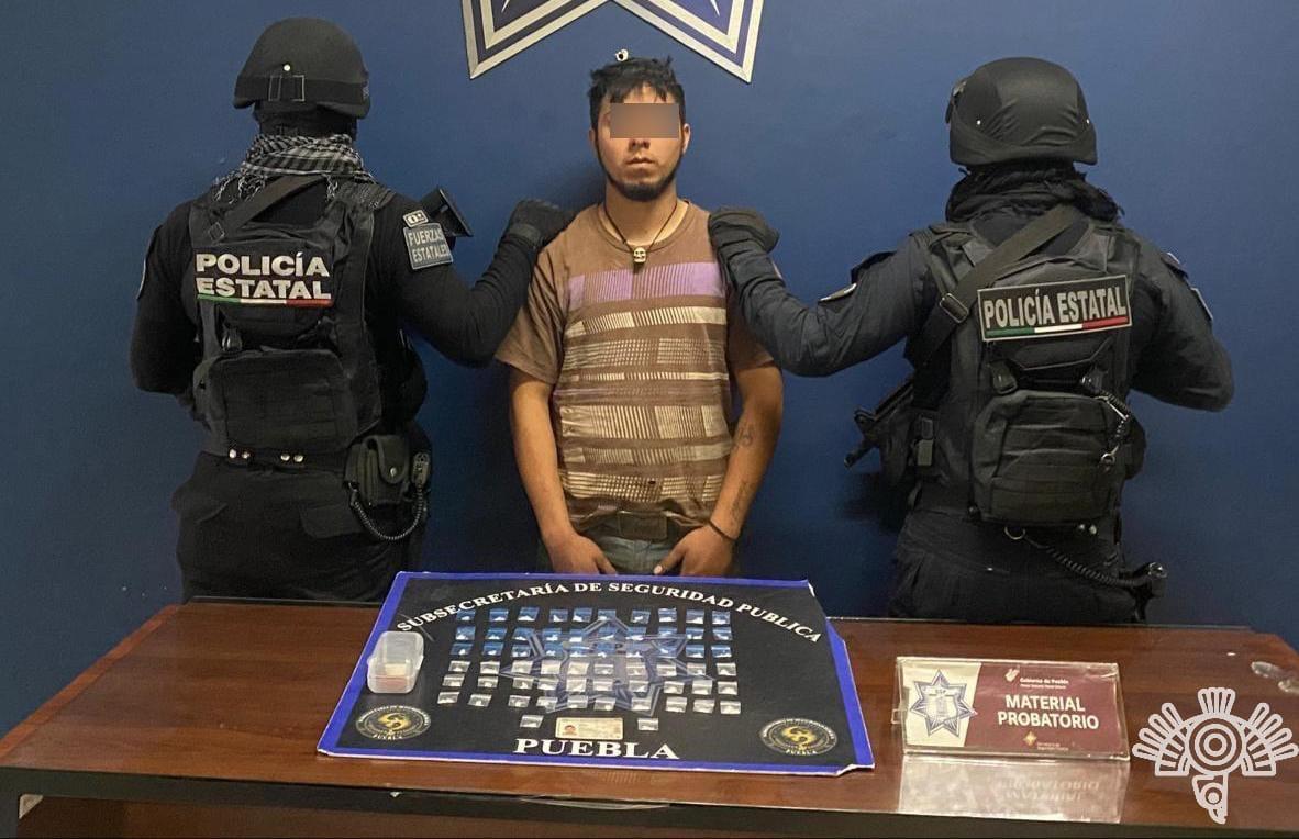 Capturan a distribuidor de droga de Los Valencia en Venustiano Carranza
